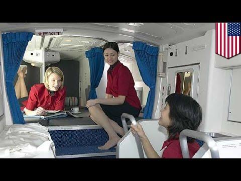 Boeing 787 Dreamliner: Secret rest cabin