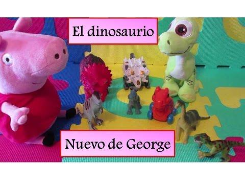 Peppa Pig El Dinosaurio Nuevo de George | Vídeos de Peppa Pig en español