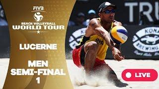 Lucerne - 2018 FIVB Beach Volleyball World Tour - Men Semi Final 1