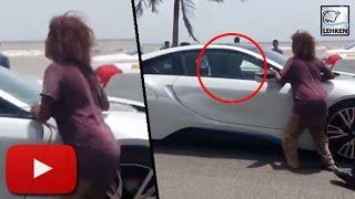 Shahrukh Khan Car STOPPED By Homeless Woman | LehrenTV