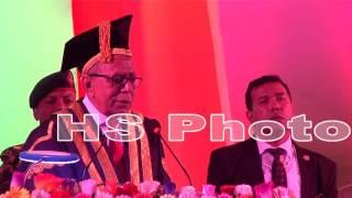 মনে রং না্ই ?? ষ্ট্রপতি আব্দুল হামিদ, কবি নজরুল বিশ্ববিদ্যালয়ে মজার ভাষন
