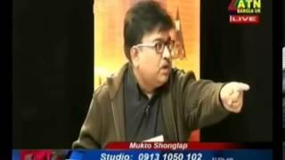 Dr. Abdun Noor Tushar VS Barrister Abu Baker Molla in Mukto Songlap ATN UK