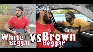 Funny Beggars (White Vs Brown) Comedy Desi Vines l Firangi Pirates l V05