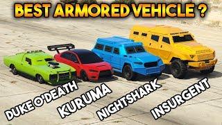 GTA 5 ONLINE : KURUMA VS INSURGENT VS NIGHTSHARK VS DUKE O