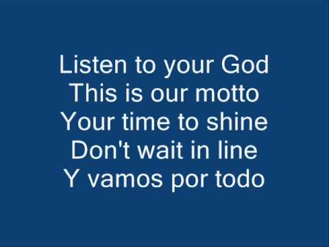 Waka Waka (English Ver.) - With English Lyrics