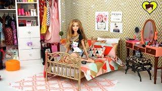 Decoramos Habitacion de Adolescente para  Barbie Muñeca Gigi Hadid