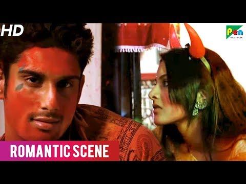 Hot Kissing Scene of Prateik Babbar And Amyra Dastur | SSAQ | Romantic Scene | HD