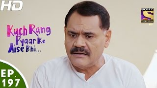 Kuch Rang Pyar Ke Aise Bhi - कुछ रंग प्यार के ऐसे भी - Episode 197 - 30th November, 2016