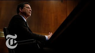 James Comey Congressional Hearing Before Congress (Full Testimony) | The New York Times