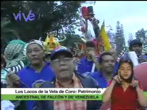 Locos de la Vela de Coro Tradición ancestral de Falcón en los carnavales de 2011