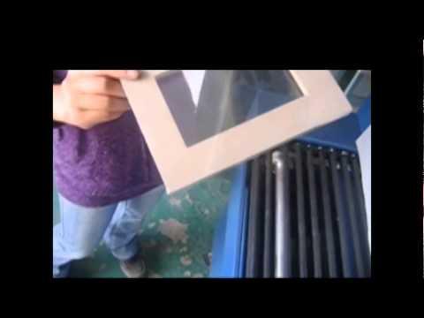 PVC film Semi auto Shrink tunnel Shrink Film Packaging Machine
