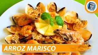 Arroz Marisco - Portuguese seafood rice recipe