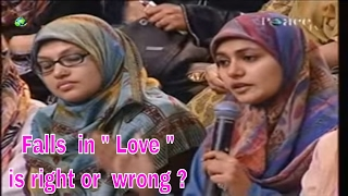 Falls in Love is right or wrong | Dr Zakir Naik 2017 |  Peace TV Live Streaming