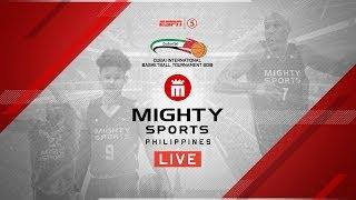 Mighty Sports Philippines vs. Oil Sports Iraq | 2019 Dubai International Basketball Championship