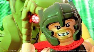 LEGO Marvel Super Heroes 2 Man-Thing Boss Fight 4k Ultra HD 60FPS 2160p