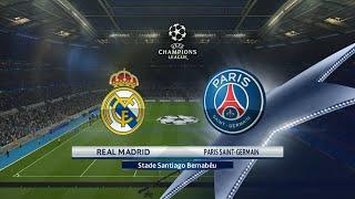 Real Madrid - Paris SG [PES 2016] | Ligue des Champions 2015-2016 (4ème Journée) | CPU Vs. CPU