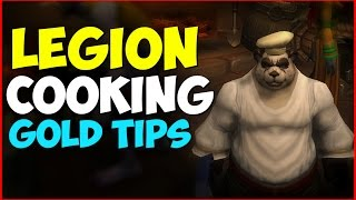 WoW Legion | Make Gold with Cooking | Bacon, Feasts and Food!