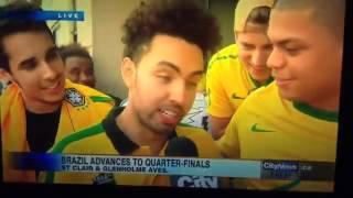 Brazil Football Fan - Fuck Her Right In The Pussy