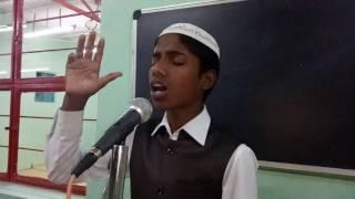 Naate Pak bay MD. JASEER Baruwar Madhubani Bihar Naatiya competition 18/12/2061