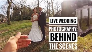 Wedding Photography in Action | Behind The Scenes - Damian Brown Photography