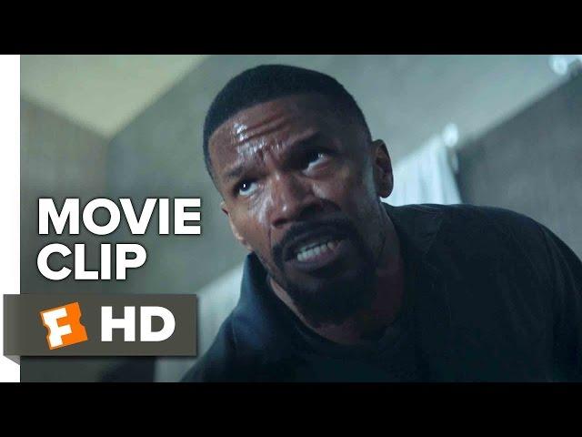Sleepless Movie CLIP - Hands Against the Locker (2017) - Jamie Foxx Movie