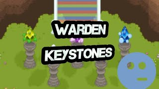 I received all warden keystones in prodigy, now what?
