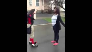 The Best Girls Fight i Seen In My Life !
