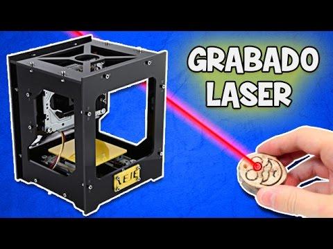 Como hacer un Grabado Laser Maquina para Grabar en Laser