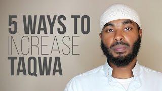 5 Ways to Increase Taqwa | Ammar Alshukry | Rhyme Reason