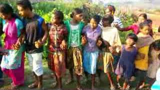 Jashpur chain dance village odkela