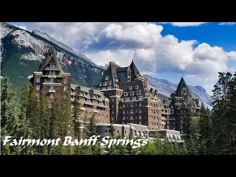 Visit Fairmont Banff Springs hotel in Banff National Park