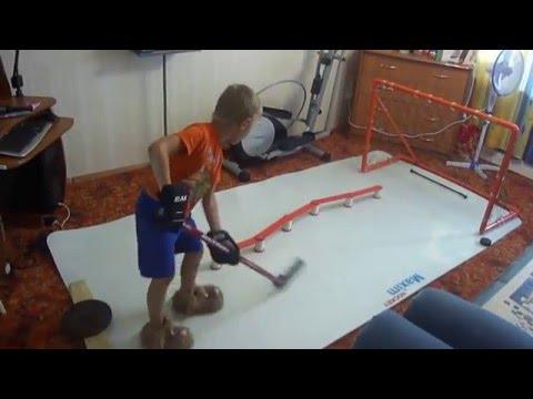 Упражнения для хоккеистов в домашних условиях