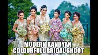 Kandyan Bridal Group By Salon indu & Mala saree