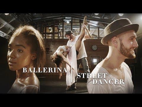 Street Dancer & Ballerina Fuse Styles Into One Dance