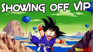 DragonBall Z online! showing off VIP