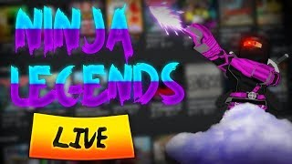 Roblox Live ◈ No Life ◈ Ninja Legends ◈ Immortal Grind ◈  Free Pets ◈ Giveaway? ◈ !join ◈ !watchtime