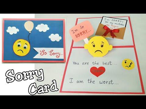 Xxx Mp4 Sorry Card Sorry Card For Friend Pop Up Sorry Card Handmade Pop Up Sorry Card Making 3gp Sex