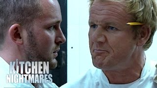 Gordon Furious When Chef Points the Blame At His Menu | Kitchen Nightmares