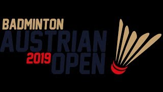 Austrian Open Badminton 2019 courts 1 & 2 Qualifications