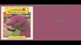 Barney's 1-2-3-4-5 Senses Super RARE 1992 VHS Opening & Closing