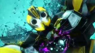 TFP Deadlock Optimus Prime Vs Megatron