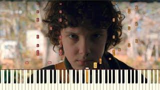 Stranger Things - Season 2 Final Trailer Music [Piano Tutorial] (Synthesia)