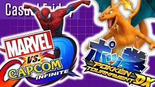 Marvel Vs Capcom: Infinite & Pokken Tournament DX  | Casual Friday | Stream Four Star