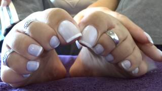 Hands and feet- French nails