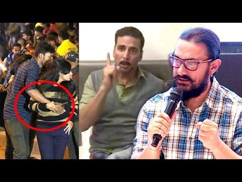 All Bollywood Celebs Reaction On Bengaluru Mass Women Teasing - Aamir Khan,Akshay Kumar