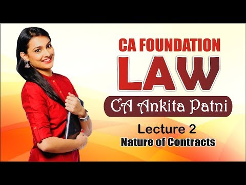 Xxx Mp4 CA Foundation Law By CA Ankita Patni Lecture 2 3gp Sex