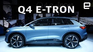 Audi E-Tron Q4 First Look at Geneva Motor Show 2019