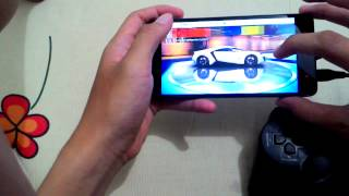 Xiaomi redmi note 2 test game with gamepad