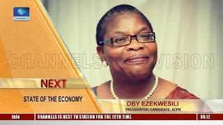 Economic Hardship: Ezekwesili Asks Buhari To Admit Not Having The Answer Pt.1 |Sunrise Daily|