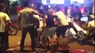 Vụ đánh nhau kinh hoàng nhất trên đường phố